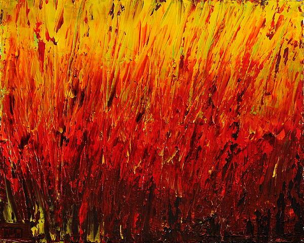 RED Print by Teresa Wegrzyn