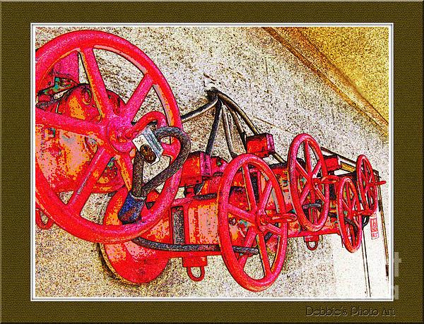 Debbie Portwood - Red wheels
