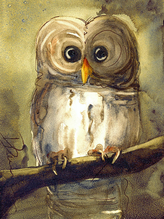 Dawn Derman - Redbird Cottage Owl
