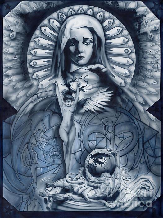 Redemption Print by Luis  Navarro