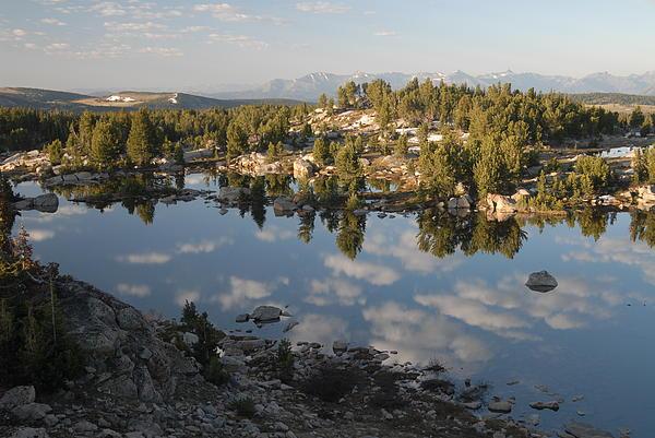 Reflection Pool Near Beartooth Print by Larry Moloney