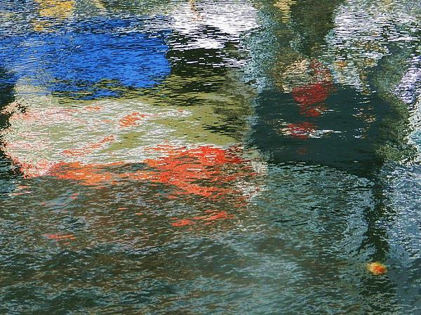 Karen Molenaar Terrell - Reflections and Jellyfish in Ketchikan
