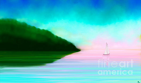 Reflections Print by Anita Lewis