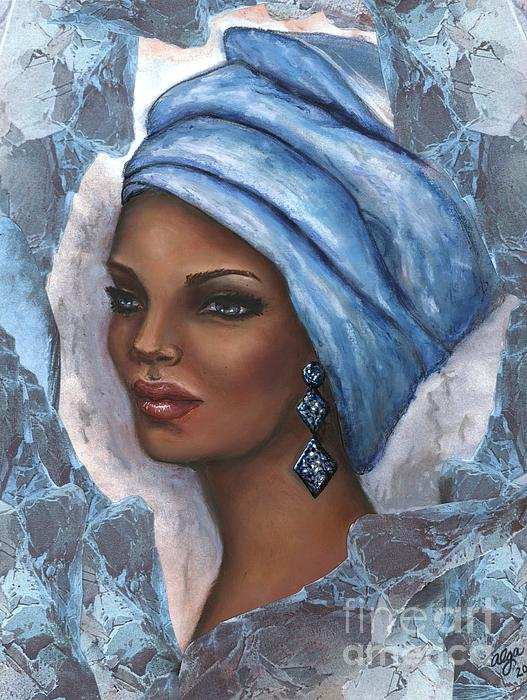 Alga Washington - Regal Lady in Blue