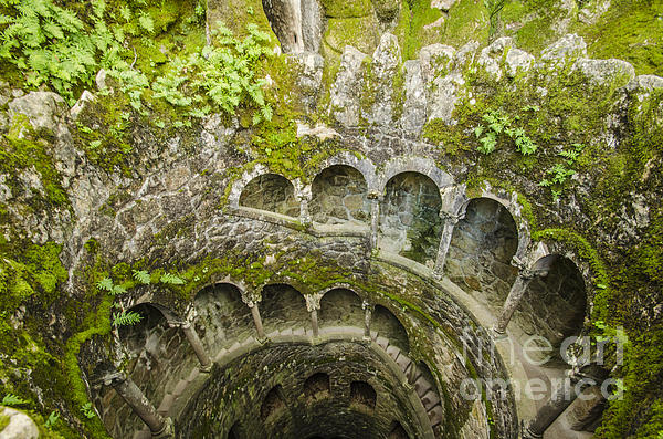 Regaleira Initiation Well 2 Print by Deborah Smolinske
