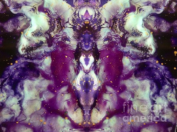 Remember You Are Divine Print by Denise Nickey