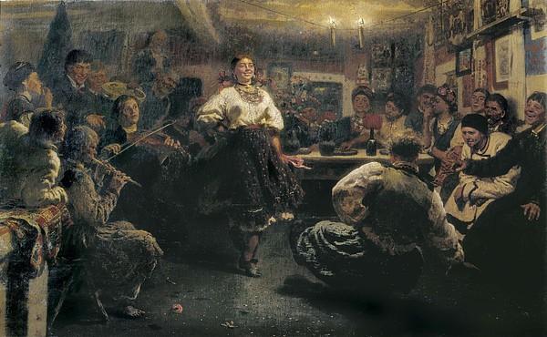 Repin, Ilya Yefimovich 1844-1930. The Print by Everett