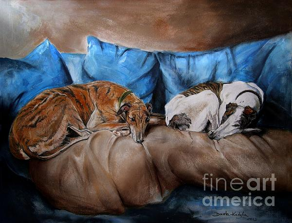 Resting Time Print by Dorota Kudyba