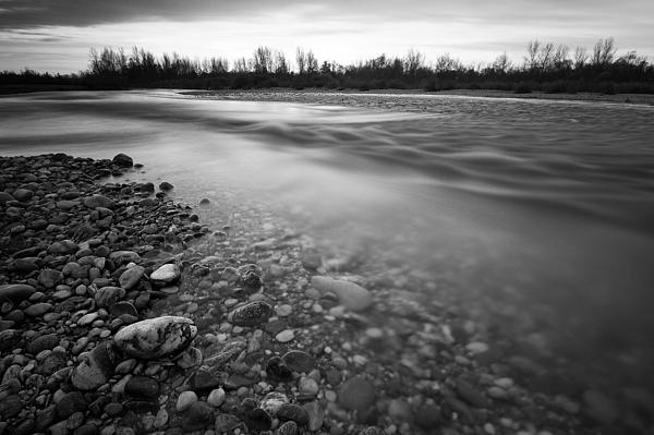 Restless River Print by Davorin Mance
