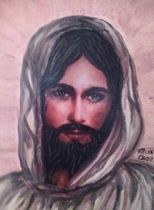 Resurrected Jesus Print by Cena Rasmussen