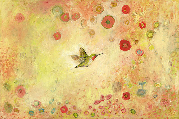Returning To Fairyland Print by Jennifer Lommers