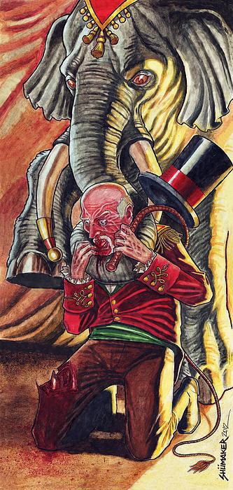 Revenge Print by David Shumate