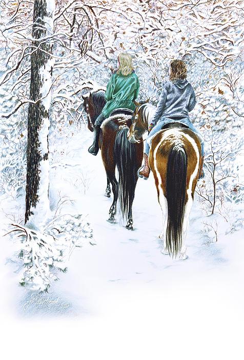 Ride Into Faerieland Print by Jill Westbrook