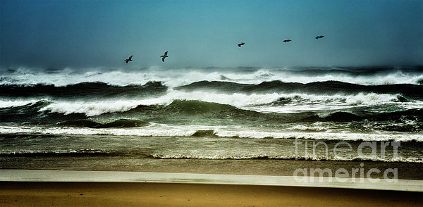 Riders On The Storm II - Outer Banks Print by Dan Carmichael