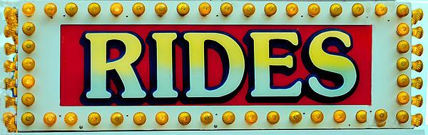 Rides Print by Skip Willits