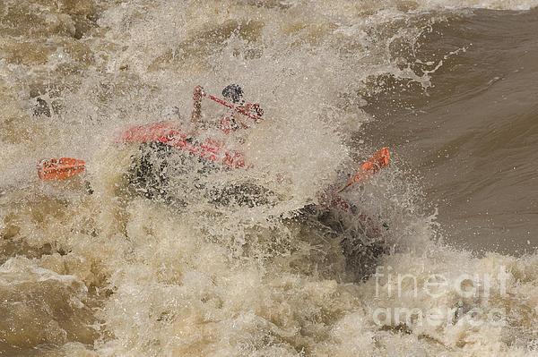 Rio Grande Rafting Print by Steven Ralser