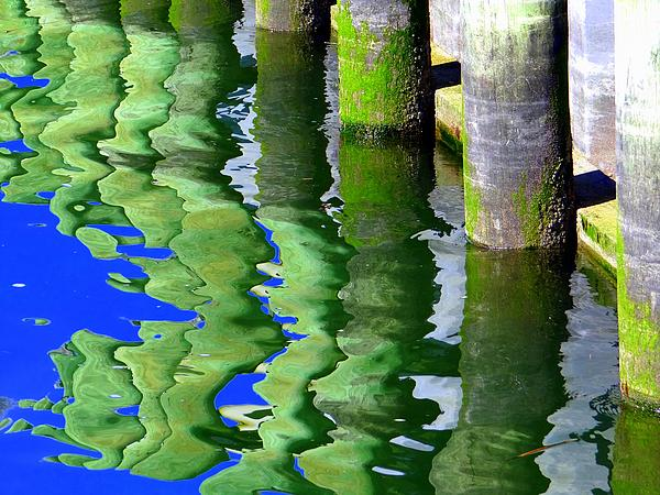 Ripple Reflections Print by Ed Weidman