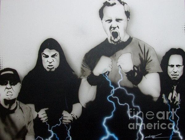 'rising Metallic Storm' Print by Christian Chapman Art