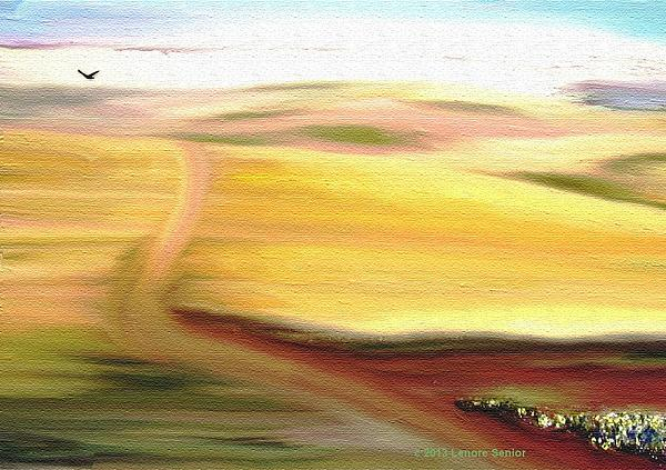 Road To Somewhere Print by Lenore Senior