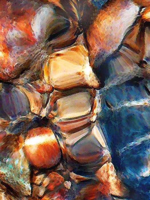 Rock Bottom Print by Terril Heilman