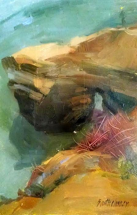 Karla Bartholomew - Rock Formations of Beach near San Diego
