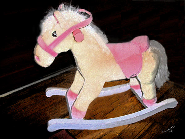 Rocking Horse Print by Brandy Nicole Clark