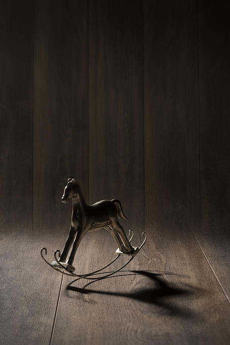 Rocking Horse Print by Amanda And Christopher Elwell