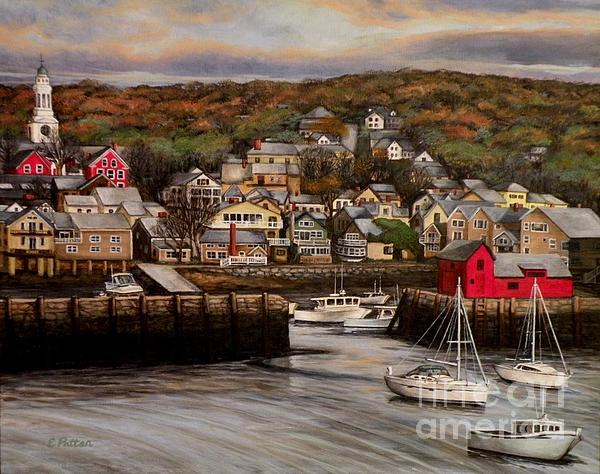 Eileen Patten Oliver - Rockport Harbor