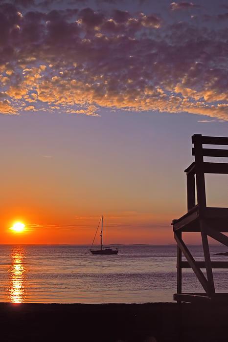 Rockport Sunset Print by Joann Vitali