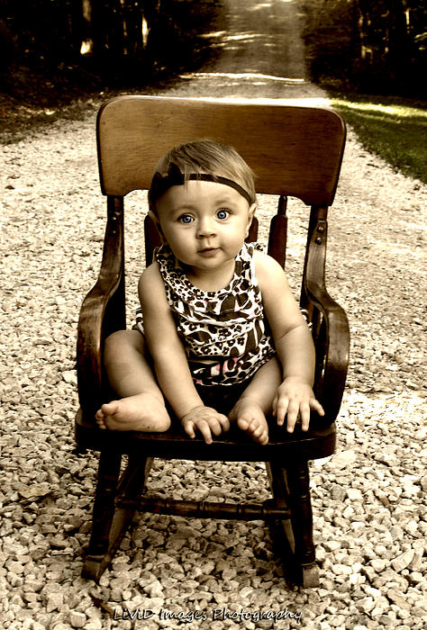 Kristie  Bonnewell - Rocks and Chair