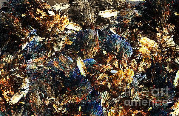 Rocks And Minerals Print by Klara Acel