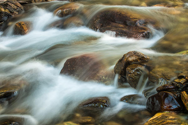 Rocky Flow Print by Joan Herwig
