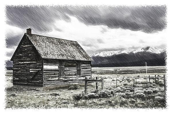 Rocky Mountain Past Print by John Haldane