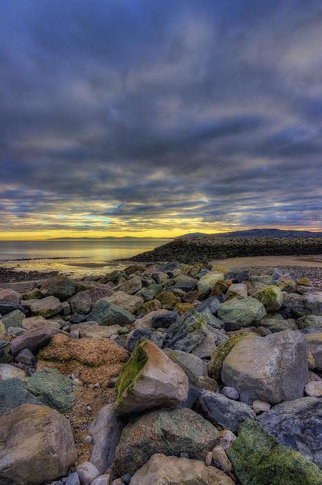 Rocky Sunrise Print by Ian Mitchell