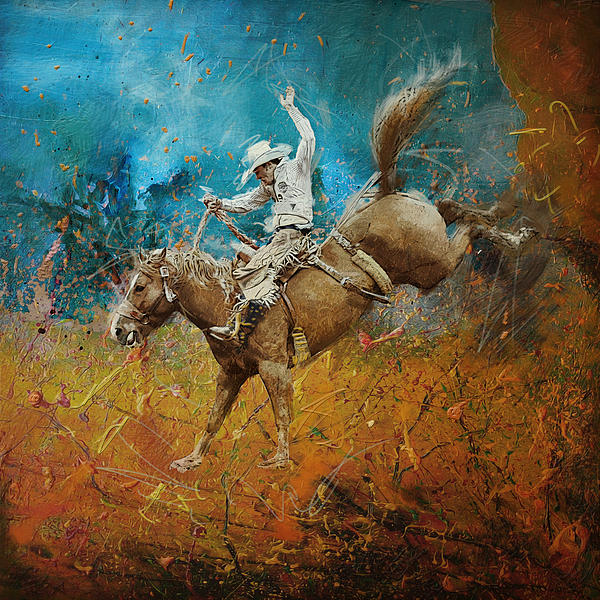 Rodeo 001 Print by Corporate Art Task Force