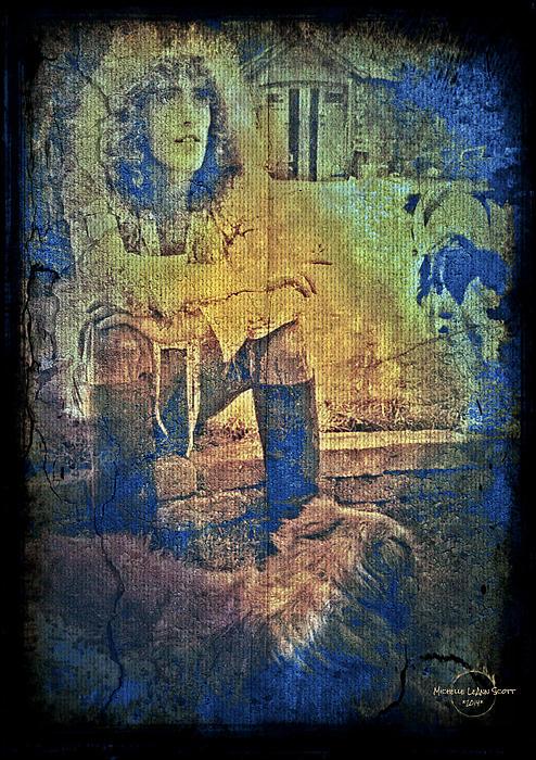 Roger Daltrey Print by Absinthe Art By Michelle LeAnn Scott