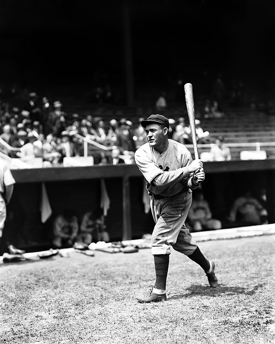 Rogers Hornsby Warm Up Swings Print by Retro Images Archive