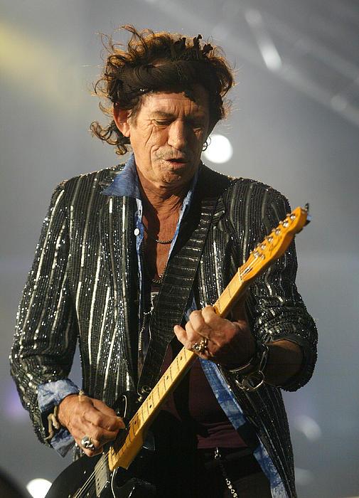 Rolling Stones Concert 13 Print by Rafa Rivas