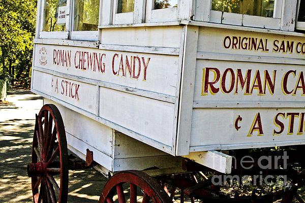 Roman Chewing Candy Print by Scott Pellegrin