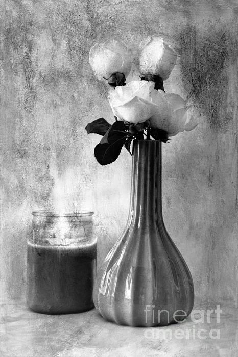 Romantic Light Print by Betty LaRue