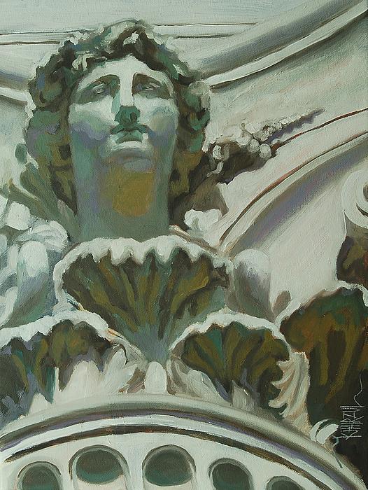 Rome Statue Print by Khairzul MG