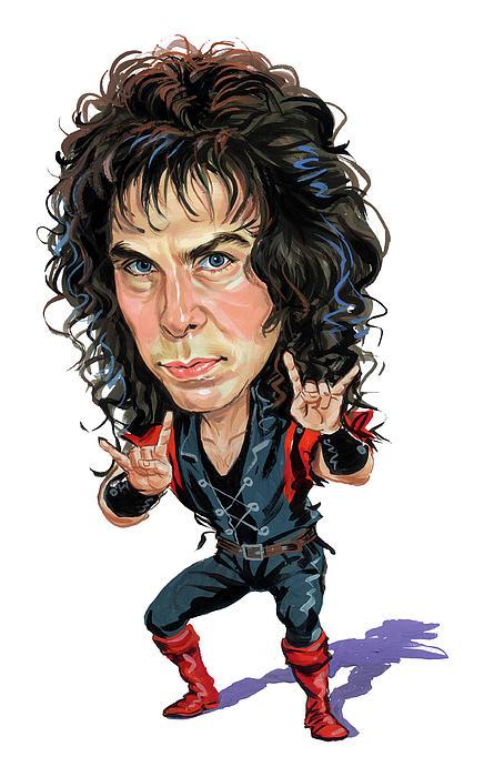 Ronnie James Dio Print by Art