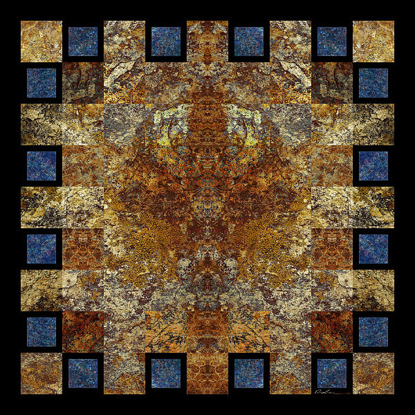 Rorshach Yantra Nine Oh Four Print by Bruce Ricker