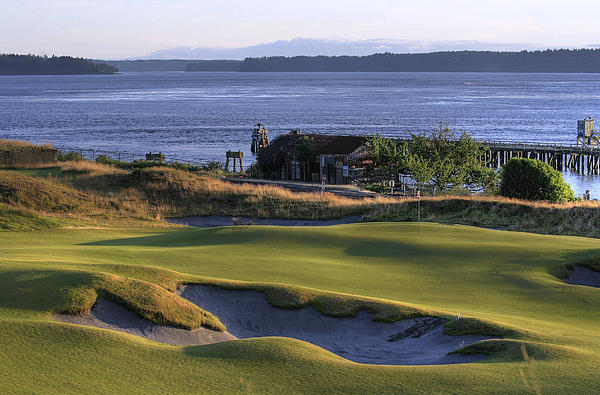Chris Anderson - Rose Shack 17 - Chambers Bay Golf Course