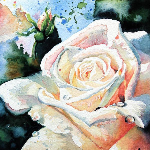 Roses 6 Print by Hanne Lore Koehler