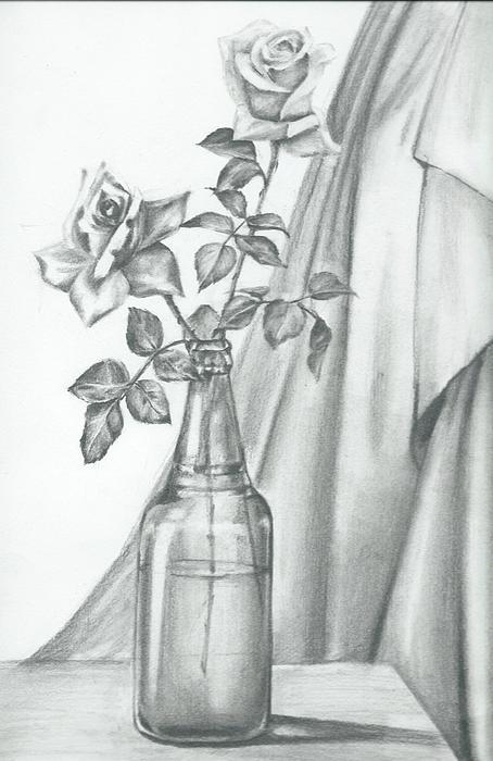 Roses Print by Gayatri Ketharaman