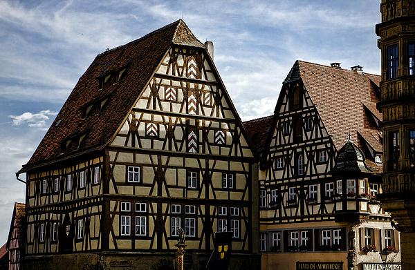 Rothenburg Architecture Print by Joanna Madloch