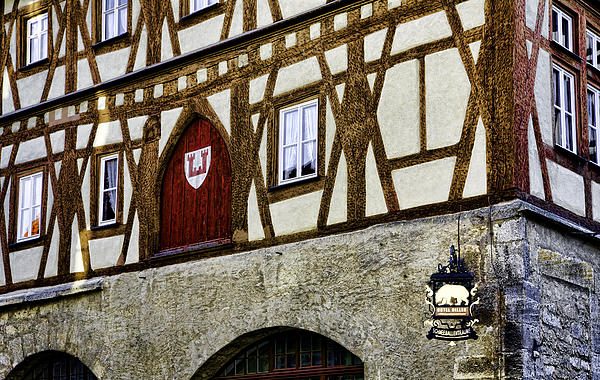 Rothenburg Geometry Print by Joanna Madloch