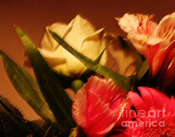 Rough Pastel Flowers - Award-winning Photograph Print by Gerlinde Keating - Keating Associates Inc