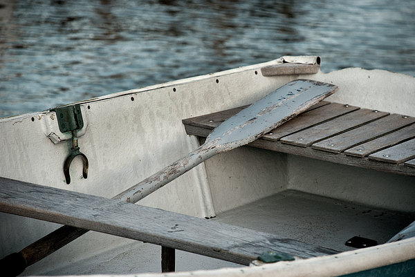 Rowboat Print by Charles Harden